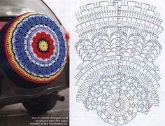 32 Mandalas en Crochet con Patrones