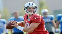 Jake Locker will start against Tampa Bay in Second Week of Preseason for Tennessee Titans