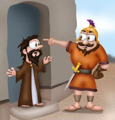 Mr Biblehead: Naaman is Healed and Gehazi get greedy Kings Healing, King, Sunday School