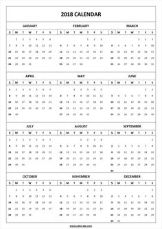 2018 2019 Calendar Yearly Calendar Pinterest Calendar Blank
