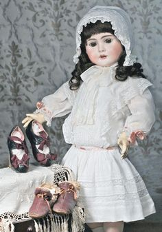 German Bisque Doll By Bahr & Proschild