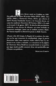 Elena Medel, Chatterton