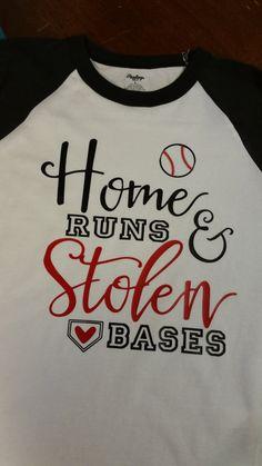 Baseball Mom Black and White Raglan shirt