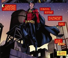 Tim Drake: Red Robin - Love you, Timmy-tots, but don't go around where someone can see full costume sans the mask. You're too cautious/paranoid for that. Red Robin Batman, Tim Drake Red Robin, Robin Dc, Batman Comics, Dc Comics, Batman Batman, Damian Wayne, Batwoman, Nightwing
