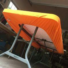 Bettlaken statt Tischdecke - fliegt nicht weg