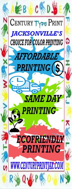 Century type print is an on demand printing company in jacksonville century type print is an on demand printing company in jacksonville florida dedicate manually to deliver same day printing quality printing and reheart Choice Image