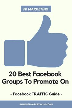 facebook promotion ideas | facebook promotions | facebook promo | facebook promotion design | facebook promo ideas  Not only am I going to give you the 20 best Facebook groups for internet marketing, but I'm also going to show you how to get a ton of traf