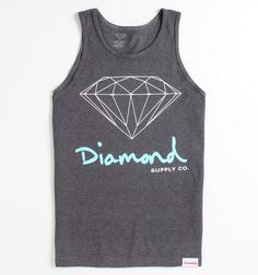 Diamond Supply Co Script Tank