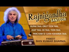 """'Rajnigandha' (On 'Santoor') - By Pandit Shiv Kumar Sharma (Full Song Jukebox) - Tseriesclassics - """"Music can change the world"""". T-Series is India's Music label company, believes in bringing world close together through its music. T-Series is associat. Shiv Pandit, Jagjit Singh, Relaxation Meditation, Indian Music, Music Labels, World Music, Relaxing Music, Close To My Heart, Musica"""