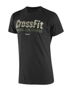 CrossFit HQ Store- Camo CrossFit Logo Tee - Short Sleeve Tees - Men Buy Authentic CrossFit T-Shirts, CrossFit Gear, Accessories and Clothing