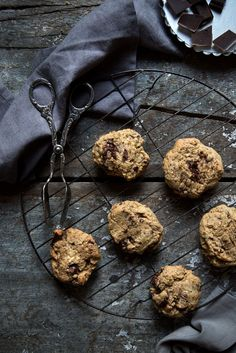 My favorite Chocolate Chip Cookies. They're gluten free and perfect.