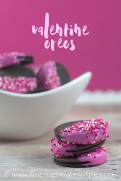 Such an easy Valentine treat! Perfect for lunch boxes and parties!   Fireflies and Mud Pies