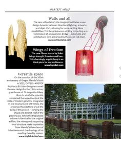 Grazie @gandgmagazineeu for featuring our new Langarm wall-sconce in your latest edition! The Italian interior design publication notes the striking elegance of the Langarm as both a light fixture and work of art.  For more information on our latest pieces, visit the link in our bio.  #willowlamp #gandgmagazine #newproducts #wallsconces #interiordesign Lighting Ideas, Lighting Design, Italian Interior Design, Light Installation, Light Fixture, Wall Sconces, Notes, Link, Instagram