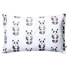Panda pillowcase - via DTLL.
