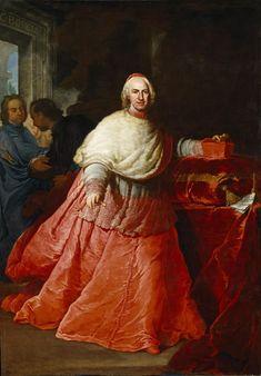 El cardenal Borgia [D. Carlos de Borja Centellas Ponce de León]. Procaccini, Andrea