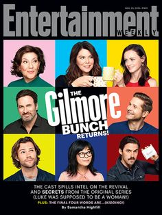 GLAD --The 'Gilmore' Bunch Is Back! however miss sookie