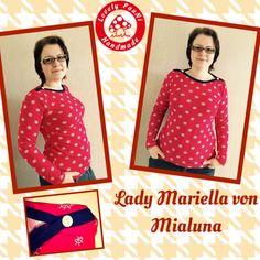 Probenähen Lady Mariella und Mariella du #Mialuna | #LovelyPauNiBlog