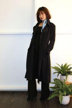 Andrea Yasmin- Maxi Trench Coat AW16 Trench, Blazer, Coat, Jackets, Women, Style, Fashion, Down Jackets, Swag