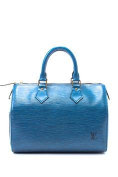 Vintage Leather Speedy 25 Handbag by Vintage Louis Vuitton on @HauteLook