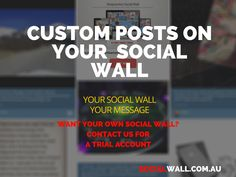 DISPLAY CUSTOM POSTS ON SOCIAL WALL #Adsense, #Advertisement, #Affiliate, #AffiliateAdvertising, #Branding, #Custom, #CustomPosts, #Google, #MakeMoney, #Marketing, #SocialMedia, #SocialWall - http://socialwall.com.au/display-custom-posts-social-wall/