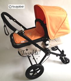 Bugaboo Off White Edition with Tailored Fabric Manderine #Twinkle_Babyshop