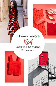 Studies show that red affects both how you feel and how people perceive you. It commands attention. Incorporate it into your wardrobe to bring you a fiery confidence when you need to be at your best. Fortune favors the bold, after all.   Shop this spicy color starting at $6 (Upper left: @soniakareena, lower right: Andreas Levers)