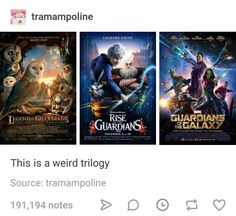 Are these all in the same universe?