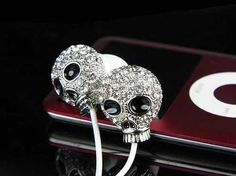 Skull headphones