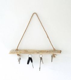 Driftwood Key Hanger Driftwood Key Rack Driftwood