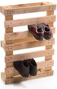 For garden shoes outside back door