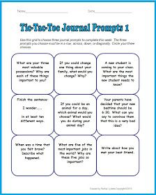 3rd grade creative writing prompts