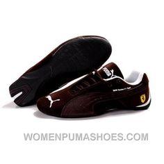 separation shoes 4950e e15ce Puma Future Cat GT Ferrari Suede Shoes In Brown Authentic Xeaji