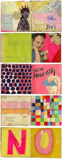 sketchbooks by Martha Rich