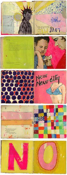 sketchbooks by Martha Rich