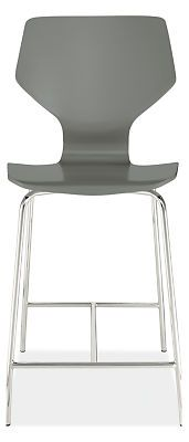 Pike Counter Stool with Chrome Base - Counter & Bar Stools - Dining - Room & Board