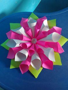 Lotus using cone shapes
