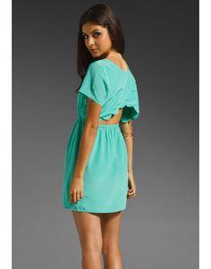 Amanda Uprichard Scallop Dress in Mint