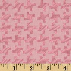 Jams & Jellies Houndstooth Pink from @fabricdotcom  Designed by Jill Finley for Henry Glass & Co., this cotton print fabric is perfect for quilting, apparel and home decor accents.