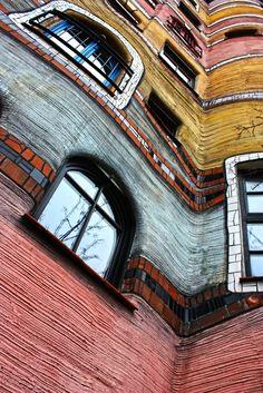 Hundertwasser - What an inspiring artist .blr