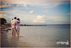 Engagement shoot in Key Biscayne, FL