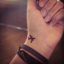 Resultado de imagem para tatuagens minimalistas para viajar