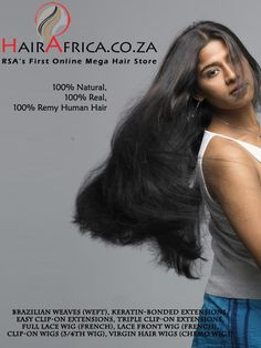 www.HairAfrica.co.zais a factory owned online mega hair mall which facilitates the valuable customers to buy quality hair extensions just from sitting in their computer desk or from the mobile phone anytime.