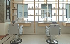 Clean-Cut Minimalism and Tradition at AKIN Barber & Shop in Dubai.