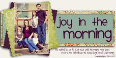 Joy in the Morning- Mark and Chelsea