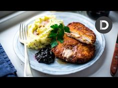 Crispy Cordon Bleu Recipe! - YouTube (Replace panko & flour with almond flour & pork rinds to make this low carb!)