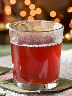 This holiday cocktail is a twist on classic mulled apple cider, perfect for warming up during the cold weather. Get the recipe on HGTV.com.