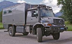 Camping-car pour le tour du monde ATACAMA