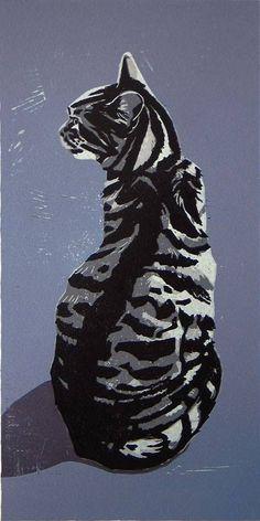 Coyote Atelier printmaking inspiration: Ann Lewis.