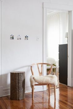 Brittany & Brittany's Bright Wicker Park Apartment — House Tour -- i think this tour embodies the sparseness that byron wants