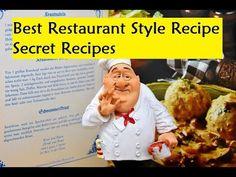 Best Restaurant Style Recipe - Secret Recipes